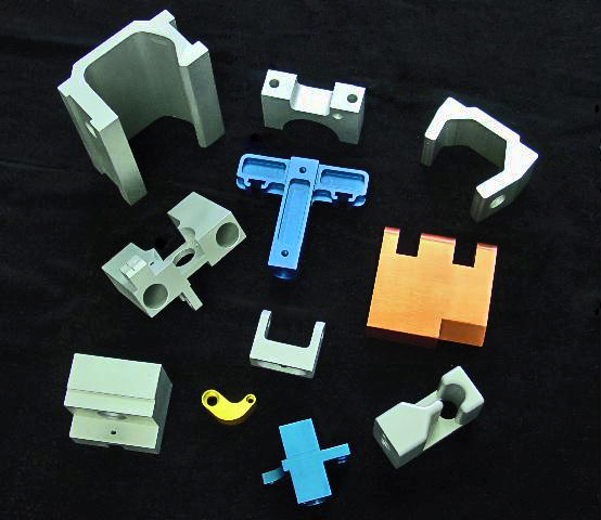 Milled Sample Parts
