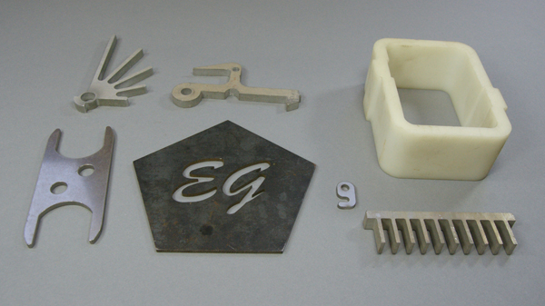 Waterjet Sample Parts